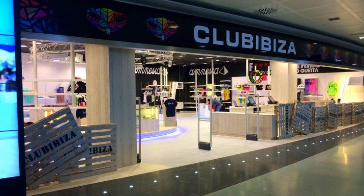 News Club Ibiza Brings Club Merchandise To Ibiza Airport
