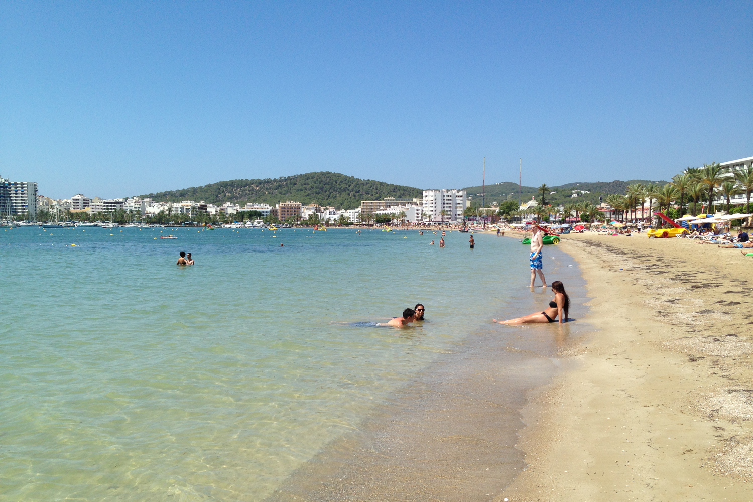 Beaches In San Antonio Ibiza Spotlight