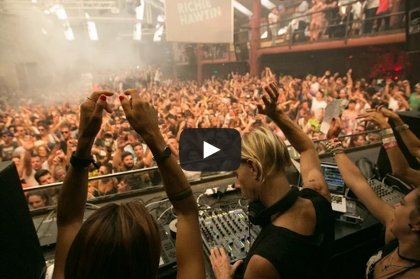 Video: Richie Hawtin at Cocoon, 18th August 2014