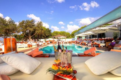 12 of the best beach clubs on Ibiza