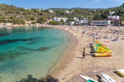 6 great beaches for families on Ibiza