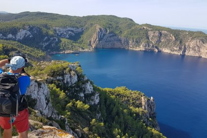 An island discovered with Walking Ibiza