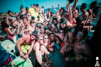 The IBZ Boat Party goes green for 2018