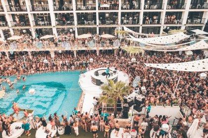 Craig David smashes it at Ibiza Rocks Hotel