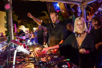 Love shines at Destino with Adam Beyer & Ida Engberg