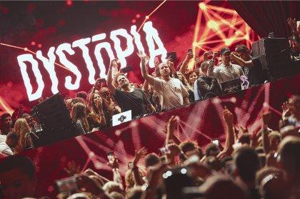 Explore DYSTOPIA's closing through photos and tunes