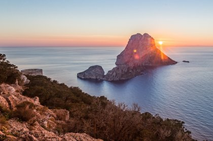 The mystical island of Es Vedra