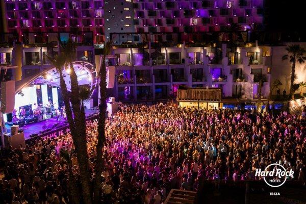 Hard Rock Cafe Ibiza Pool Party