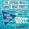 Float Your Boat - Cream Ibiza Official Boat Party San Antonio logo