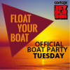 Float Your Boat - Carl Cox Official Boat Party Playa d'en Bossa logo